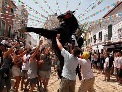 """Fiestas de """"Sant Marti"""" Es Mercadal"""