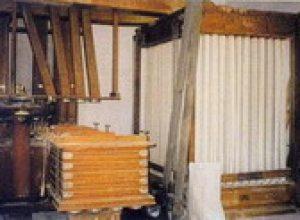 Maquinària de la farinera de s'arangí