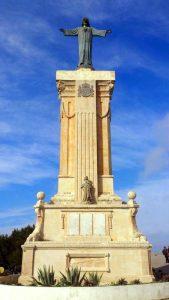 Monumento dedicado a los fallecidos en la guerra de África 1921
