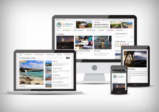 Nueva web actualizada viajamenorca.es