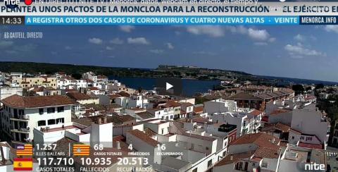 Nite TV – Información a tiempo real y WEBCAM en Menorca.